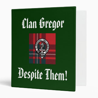 Clan Gregor Despite Them Binder