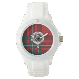 Clan Gregor / MacGregor Watch, White Sport Watch