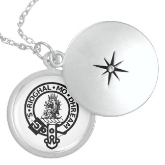 Clan Gregor Sterling Silver Locket