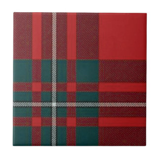 Clan Gregor Trivit/Tile Tartan Only Tile