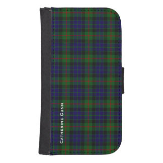 Clan Gunn Plaid Samsung Galaxy S4 Wallet