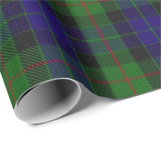 Clan Gunn Scottish Tartan Wrapping Paper