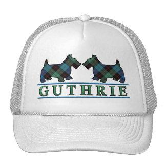 Clan Guthrie Tartan Scottie Dogs Trucker Hat