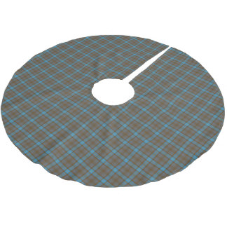 Clan Hannah Tartan Brushed Polyester Tree Skirt