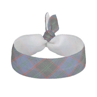 Clan Home Scottish Accents Green Blue Black Tartan Hair Tie
