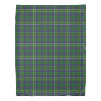 Clan Hunter Scottish Accents Tartan Duvet Cover