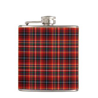Clan Innes Bright Red Tartan Flask