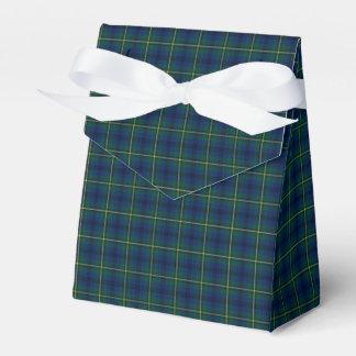Clan Johnston Tartan Favor Box