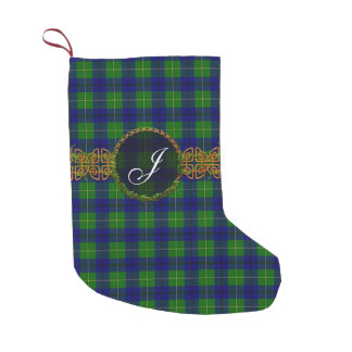 Clan Johnston Tartan Small Christmas Stocking