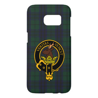 Clan Keith Crest & Modern Tartan Phone Case