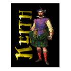 Clan Keith Highland Dream Postcard