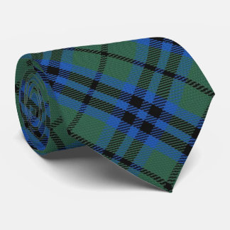 Clan Keith Letter K Monogram Tartan Tie