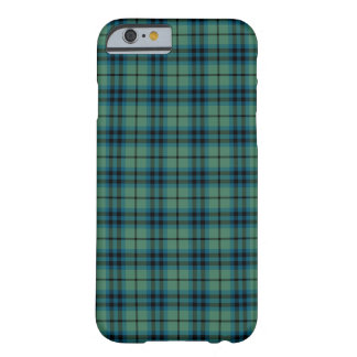 Clan Keith Light Green and Blue Ancient Tartan Barely There iPhone 6 Case