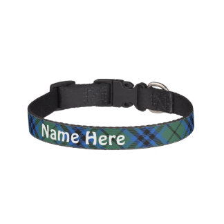 Clan Keith Tartan Customize Pet's Name Pet Collar