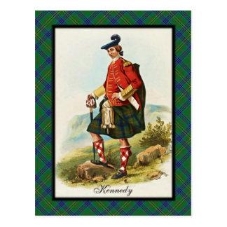 Clan Kennedy Scottish Dreams Postcard