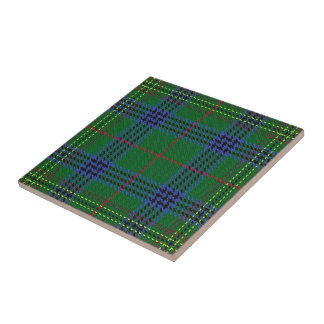 Clan Kennedy Scottish Expressions Tartan Tile