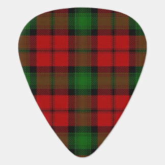 Clan Kerr Sounds of Scotland Tartan Guitar Pick