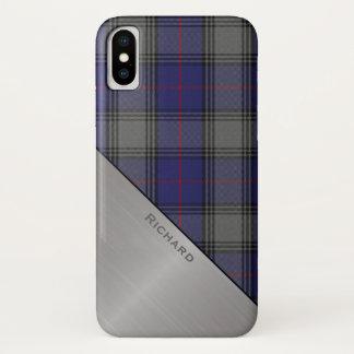 Clan Kinnaird Tartan Plaid iPhone X case