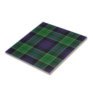 Clan Leslie Scottish Expressions Hunting Tartan Ceramic Tile