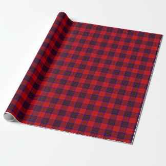 Clan Leslie Tartan Wrapping Paper