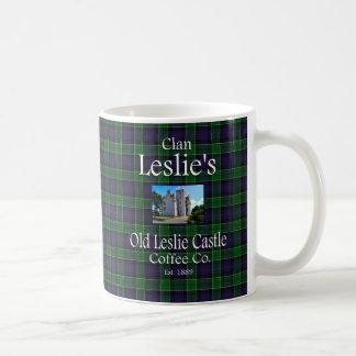 Clan Leslie's Old Leslie Castle Coffee Co. Coffee Mug