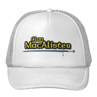 Clan MacAlister Scottish Inspiration Trucker Hat