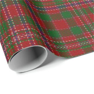 Clan MacAlister Scottish Tartan Wrapping Paper
