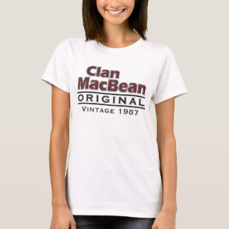 Clan MacBean Vintage Customize Your Birthyear T-Shirt