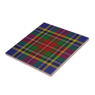 Clan MacBeth Scottish Expressions Tartan Tile
