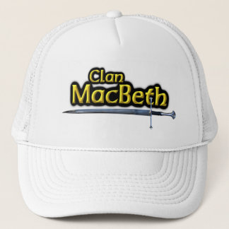 Clan MacBeth Scottish Inspiration Sword Trucker Hat