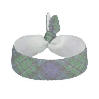 Clan MacCallum Scottish Accents Blue Green Tartan Hair Tie