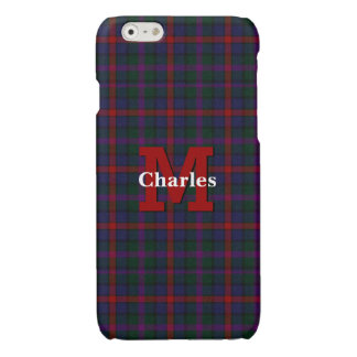 Clan MacCaughan Plaid Custom iPhone 6S Case