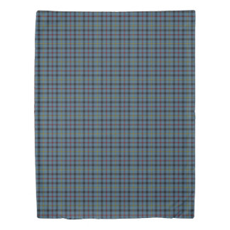 Clan MacCrimmon Scottish Accents Tartan Duvet Cover