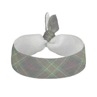 Clan MacDiarmid Scottish Accents Red Green Tartan Ribbon Hair Tie