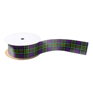 Clan MacDonald Of Ranald Tartan Satin Ribbon