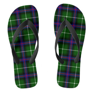 Clan MacDonald Of The Isles Tartan Flip Flops