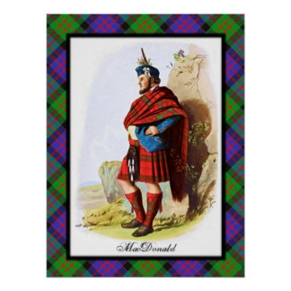 Clan MacDonald Scottish Dreams Poster