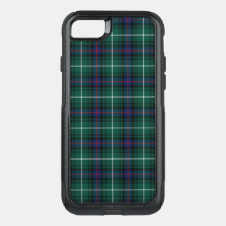 Clan MacDonald Tartan Navy Blue and Green Plaid OtterBox Commuter iPhone 8/7 Case