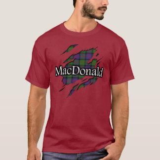Clan MacDonald Tartan Spirit Shirt