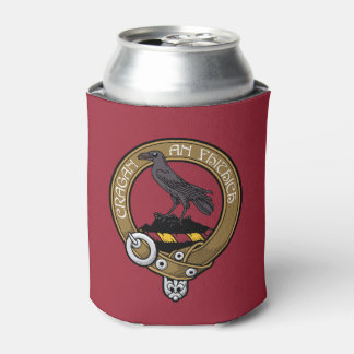 Clan MacDonell Crest Can Can Cooler