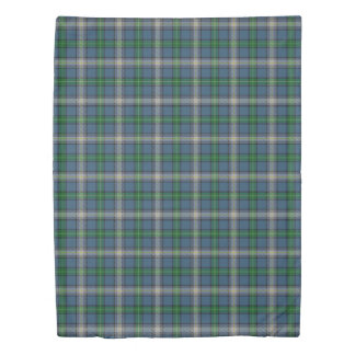 Clan MacDowall McDowell Scottish Accents Tartan Duvet Cover