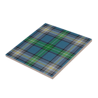 Clan MacDowall Scottish Expressions Tartan Tile
