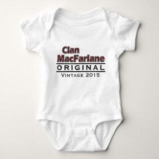 Clan MacFarlane Vintage Customize Your Birthyear Baby Bodysuit