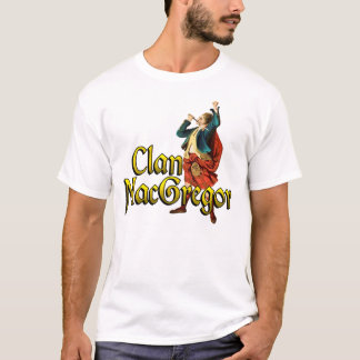 Clan MacGregor Highland Games Shirts