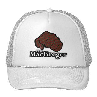 Clan MacGregor Scotland Proud Tartan Fist Trucker Hat