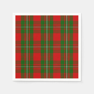 Clan MacGregor Tartan Disposable Napkin
