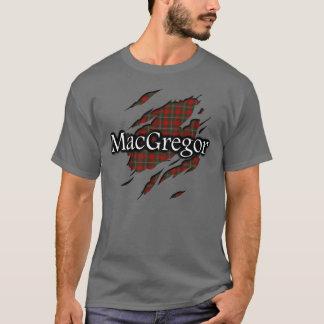 Clan MacGregor Tartan Spirit Shirt