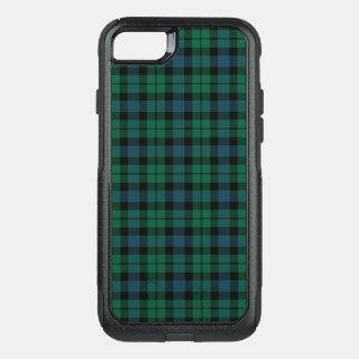 Clan MacKay Tartan Green, Blue, and Black Plaid OtterBox Commuter iPhone 8/7 Case