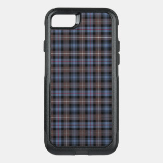 Clan Mackenzie Brown and Blue Reproduction Tartan OtterBox Commuter iPhone 8/7 Case