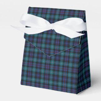 Clan Mackenzie Modern Tartan Wedding Favor Boxes